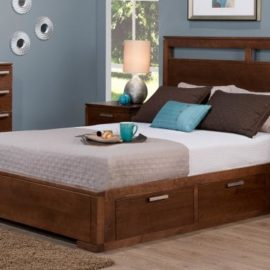 Cordova 4-Drawer Storage Platform Bed (Queen)