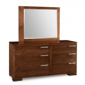 Cordova 6-Drawer Dresser & Mirror