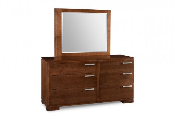 Cordova 6-Drawer Dresser & Mirror