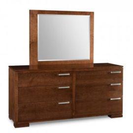 Cordova 6-Drawer Long Dresser & Mirror