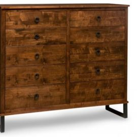 Cumberland 10-Drawer Highboy Chest