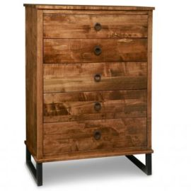 Cumberland 5-Drawer Highboy Chest
