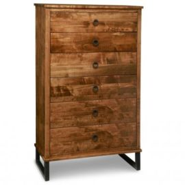 Cumberland 6-Drawer Highboy Chest