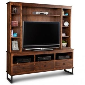 "Cumberland 73"" TV Stand with Hutch"