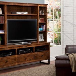 "Cumberland 83"" TV Stand with Hutch"