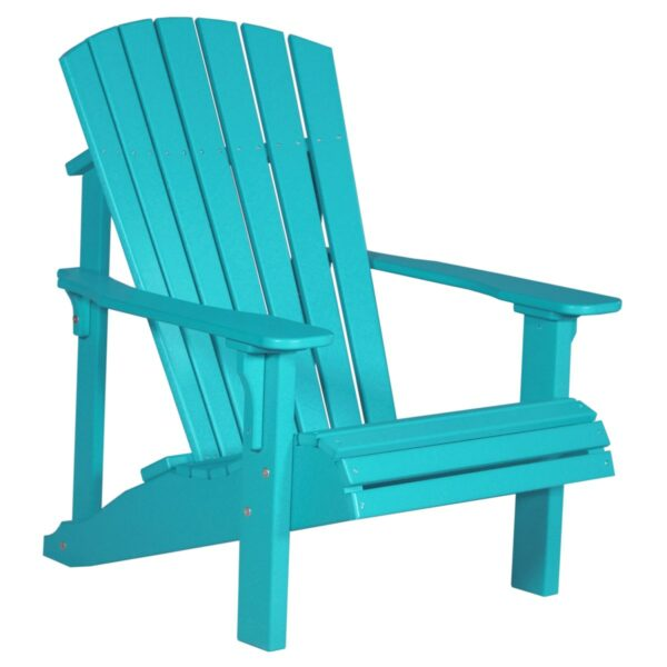 Deluxe Adirondack Chair - Aruba Blue
