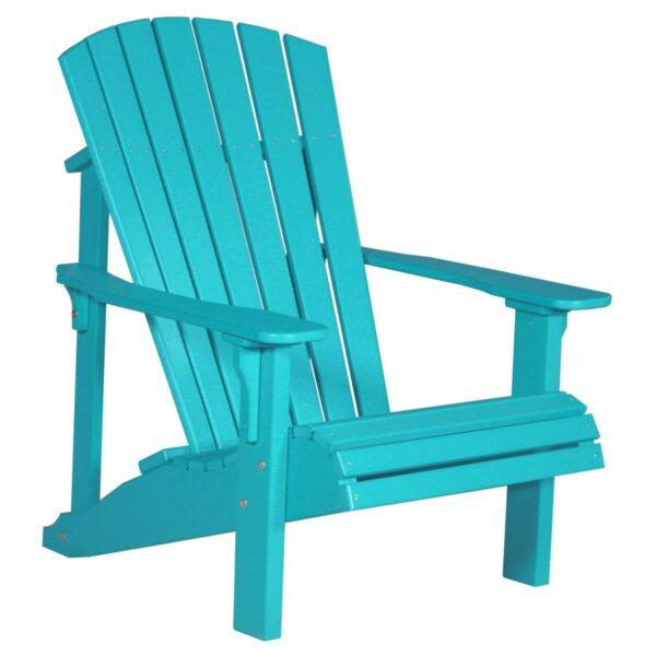 Deluxe Adirondack Chair - Aruba Blue