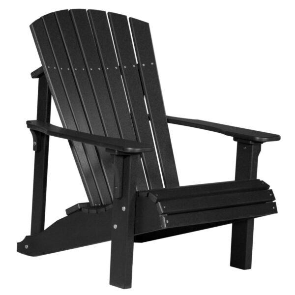 Deluxe Adirondack Chair - Black