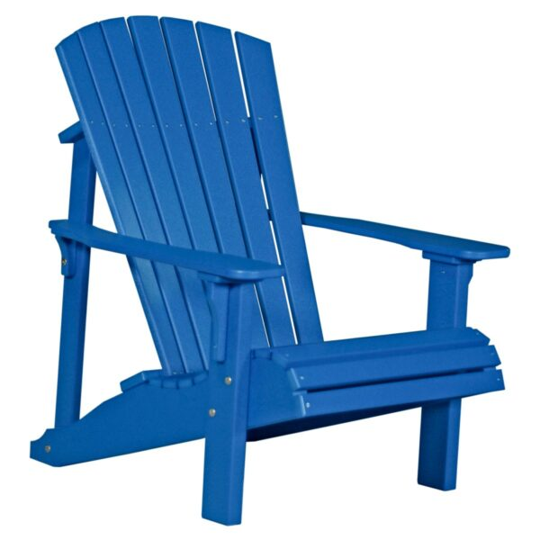 Deluxe Adirondack Chair - Blue