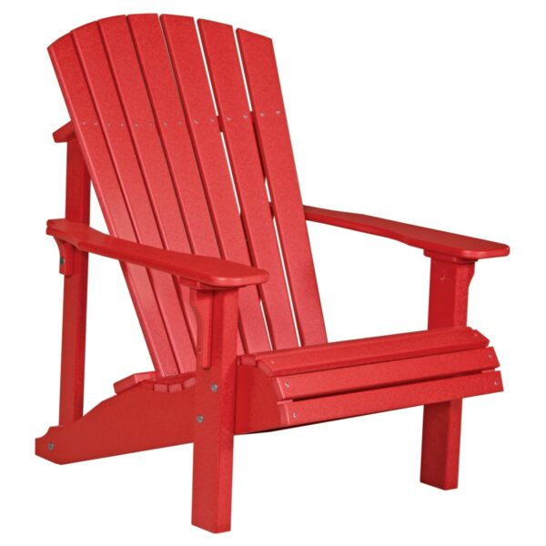 Deluxe Adirondack Chair - Red