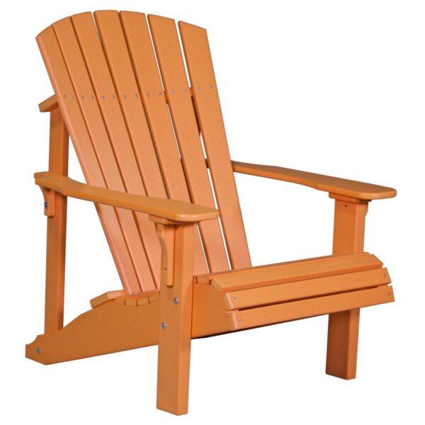 Deluxe Adirondack Chair - Tangerine