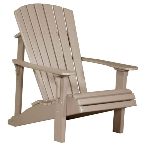 Deluxe Adirondack Chair - Weatherwood