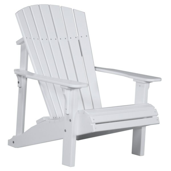 Deluxe Adirondack Chair - White