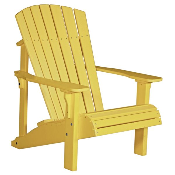 Deluxe Adirondack Chair - Yellow