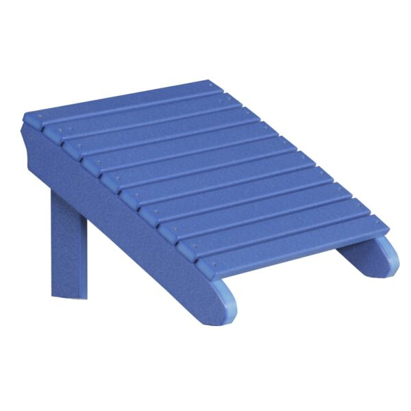 Deluxe Adirondack Footrest - Blue