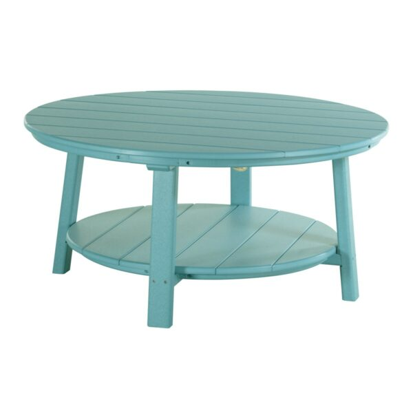 Deluxe Conversation Table - Aruba Blue