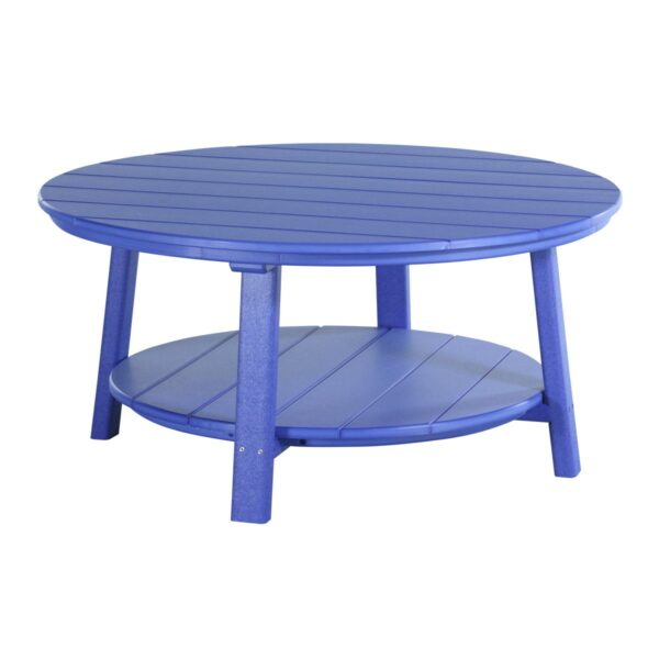 Deluxe Conversation Table - Blue