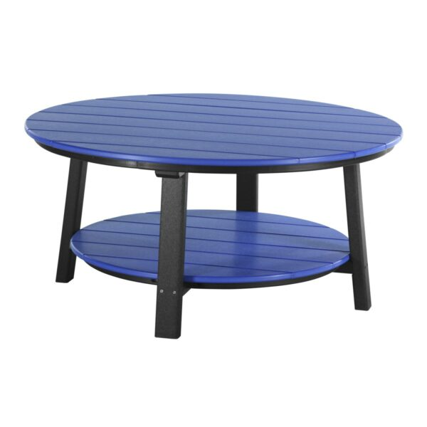 Deluxe Conversation Table - Blue & Black