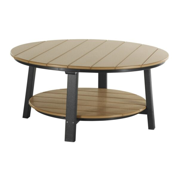Deluxe Conversation Table - Cedar & Black
