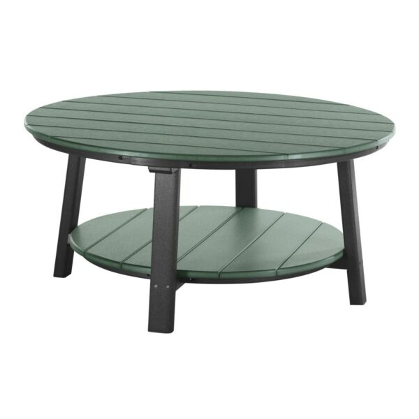 Deluxe Conversation Table - Green & Black