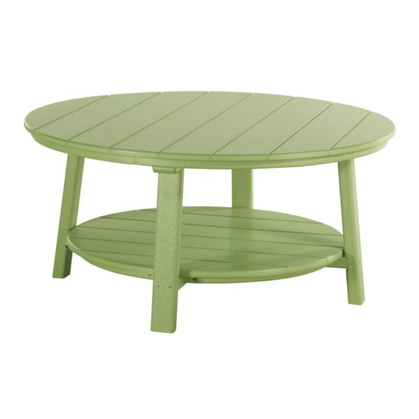 Deluxe Conversation Table - Lime Green