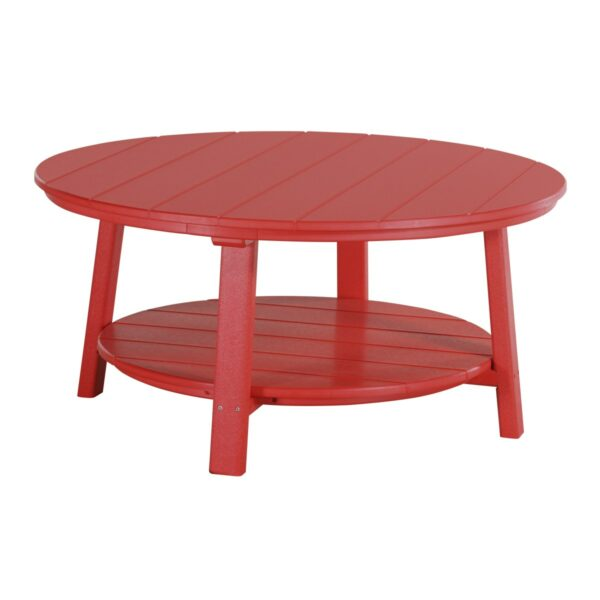 Deluxe Conversation Table - Red