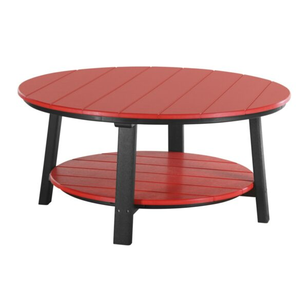 Deluxe Conversation Table - Red & Black