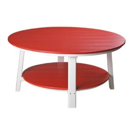 Deluxe Conversation Table - Red & White