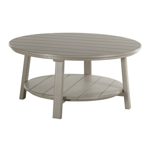 Deluxe Conversation Table - Weatherwood