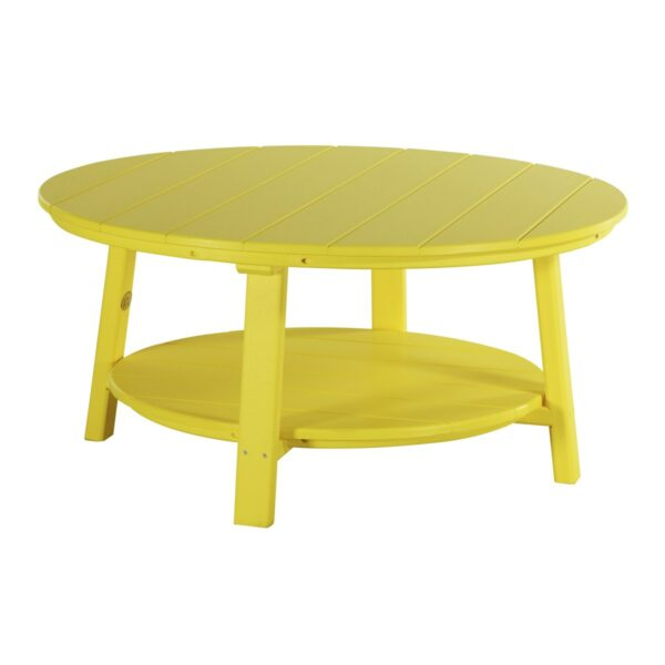 Deluxe Conversation Table - Yellow