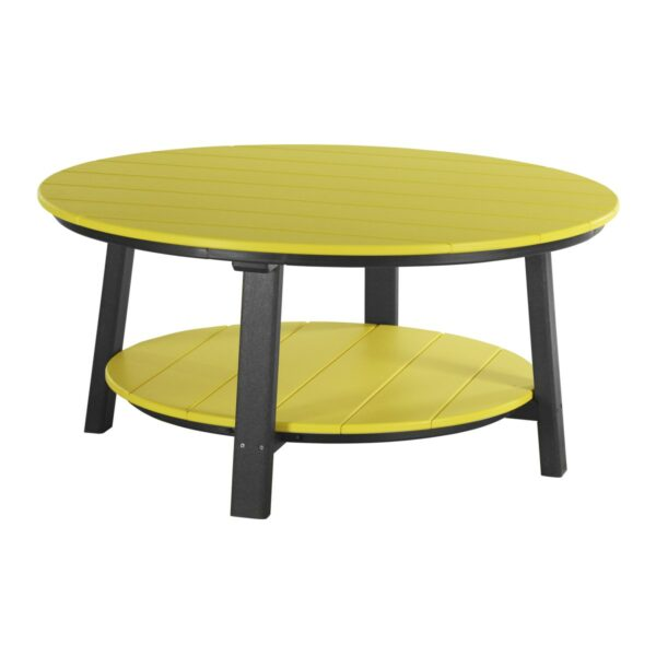 Deluxe Conversation Table - Yellow & Black