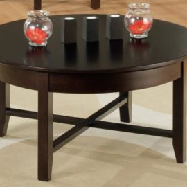 Demi-Lune Round Coffee Table