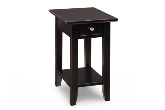 Demi-Lune Chair Side Table