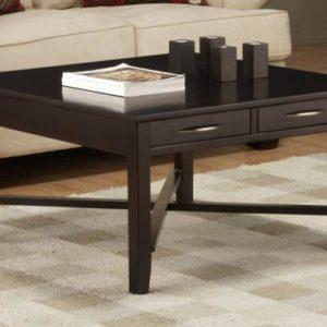 Demi-Lune Square Coffee Table
