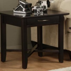 Demi-Lune End Table