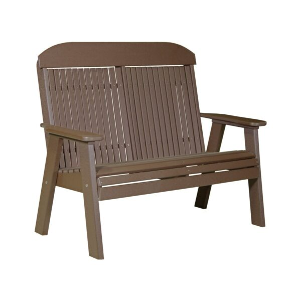 Double Classic Bench - Chestnut Brown