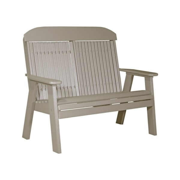 Double Classic Bench - Weatherwood