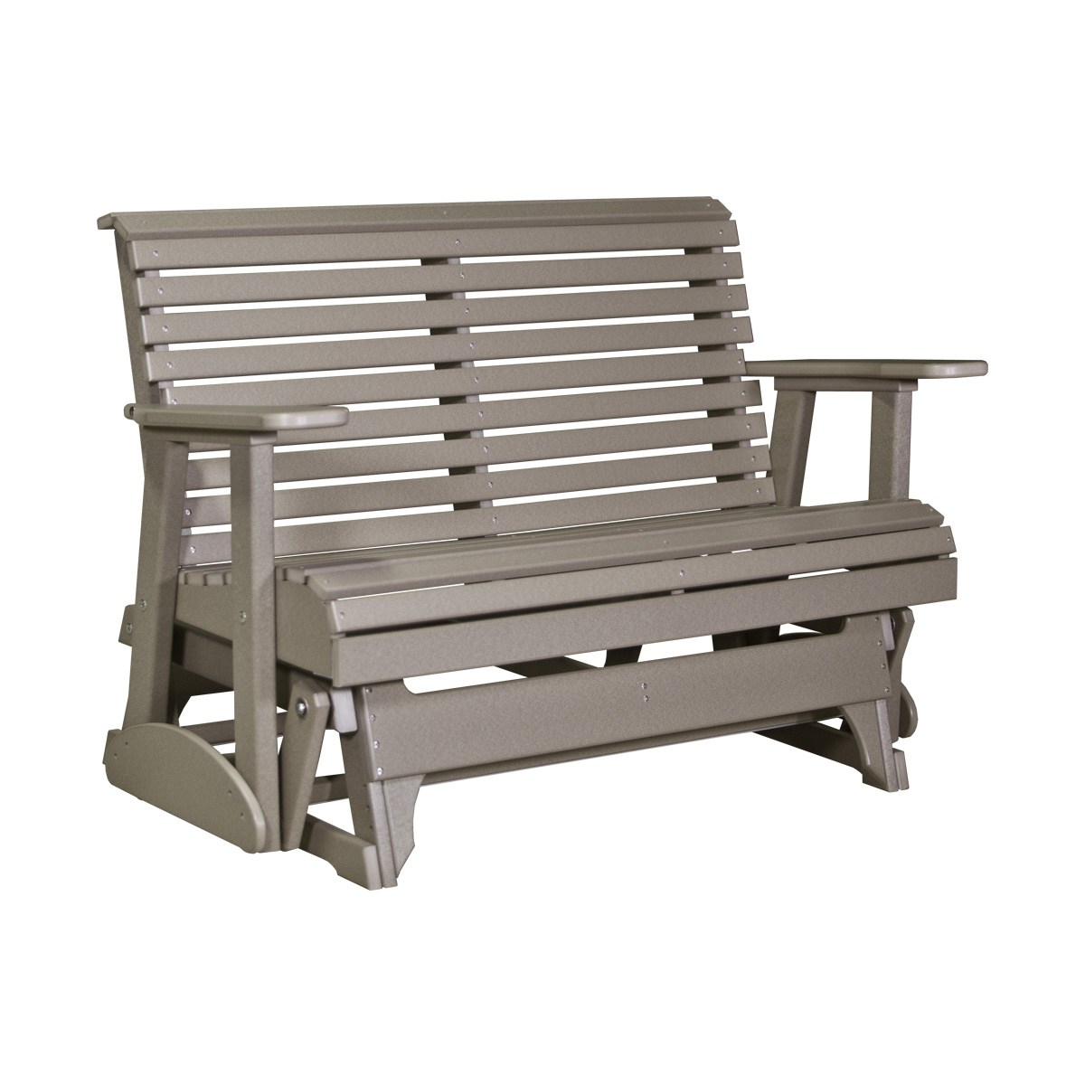 Double Plain Glider Patio Furniture Fine Oak Things