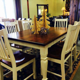 Farmhouse Harvest Table (Legs)
