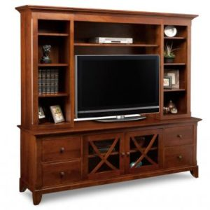 "Florence 83"" TV Stand with Hutch"