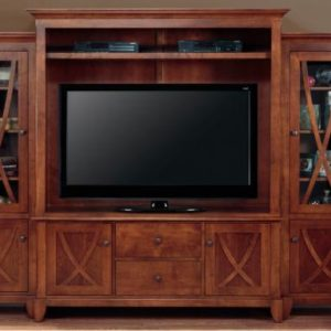 Florence 4-Piece Wall Unit