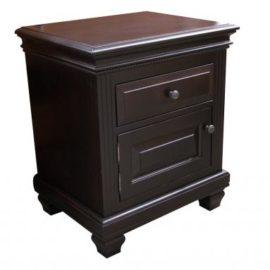 Florentino 1-Door 1-Drawer Nightstand