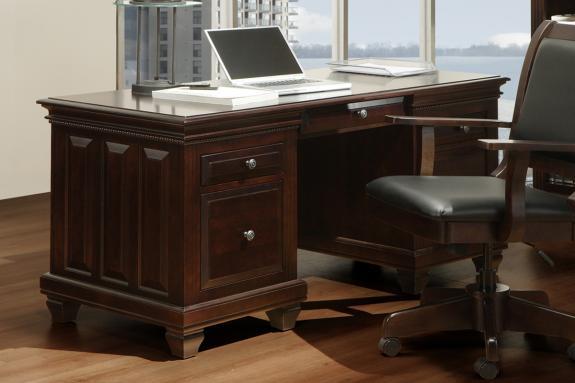 """Florentino 28""""x64"""" Executive Desk"""