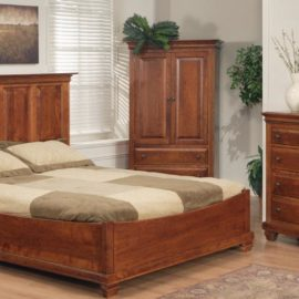Florentino Panel Boat Bedroom Set