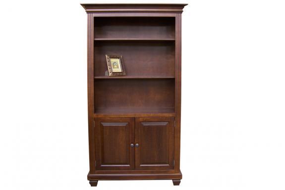 "Florentino 80"" 2-Door Bookcase"