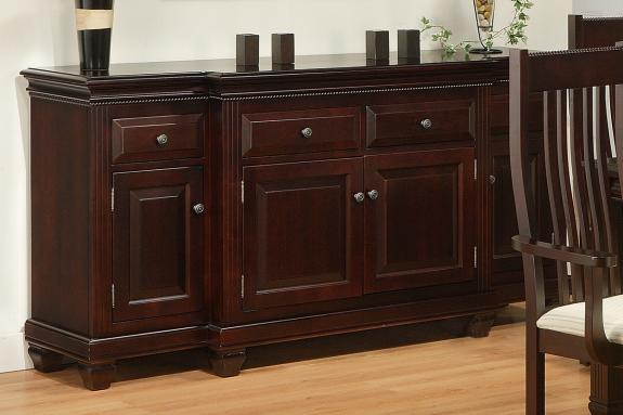 Florentino 4-Drawer 4-Door Sideboard with Canted Front