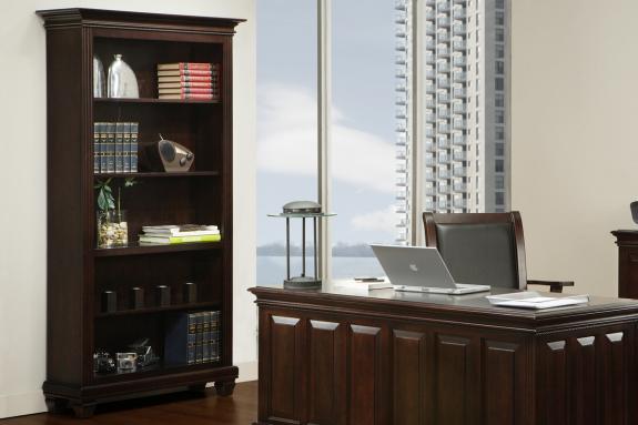 """Florentino 80"""" Open Bookcase"""