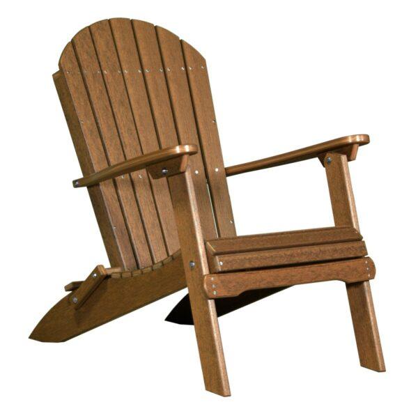 Folding Adirondack Chair - Antique Mahogany