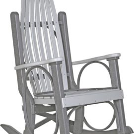 Grandpa Rocker - Dove Grey/Slate
