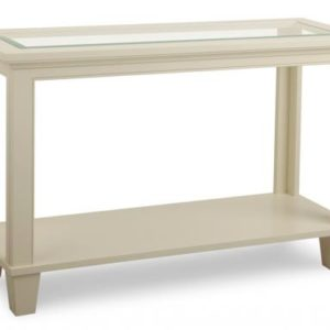Georgetown Glass Top Sofa Table